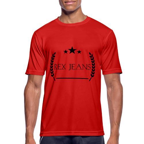 Rex Jeans - Männer T-Shirt atmungsaktiv