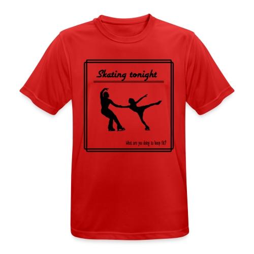 Skating tonight - miesten tekninen t-paita