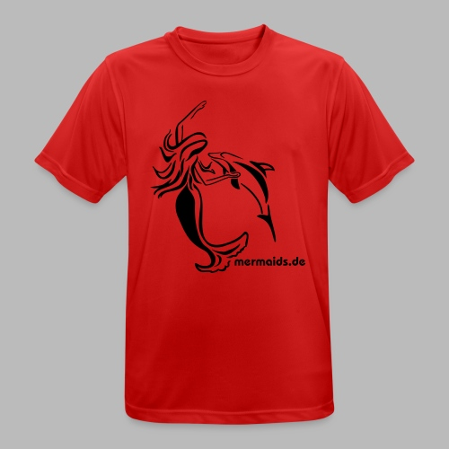 Mermaids Seejungfrau und Delphin - Männer T-Shirt atmungsaktiv