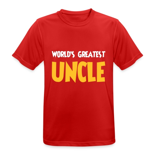World's greatest uncle - Men's Breathable T-Shirt