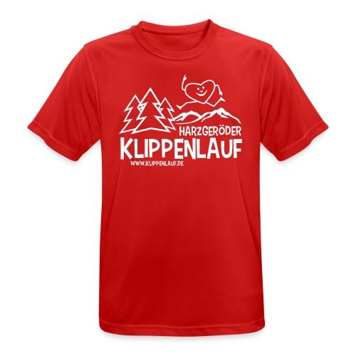 Klippenlauf Harzgerode - Männer T-Shirt atmungsaktiv