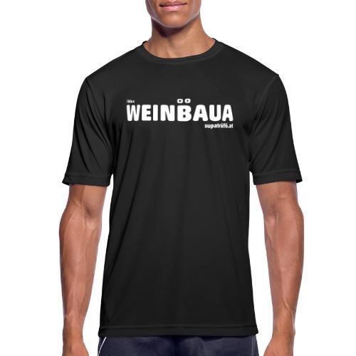 WEINBAUA - Männer T-Shirt atmungsaktiv
