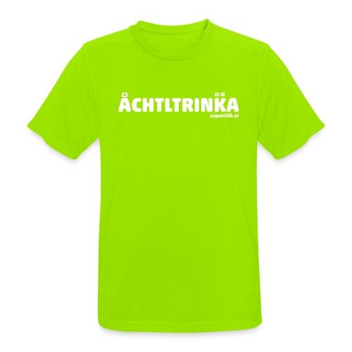 achtltrinka - Männer T-Shirt atmungsaktiv