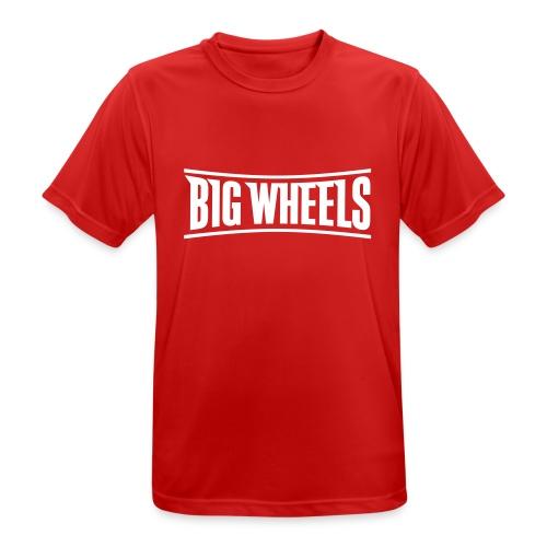 Big Wheels Plain - miesten tekninen t-paita