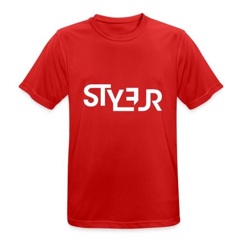 styleur logo spreadhsirt - Männer T-Shirt atmungsaktiv