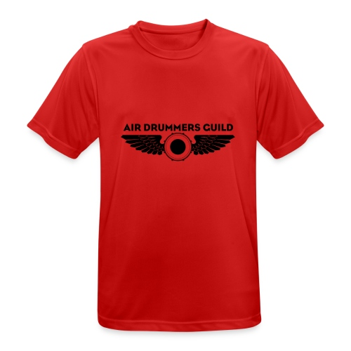ADG Drum'n'Wings Emblem - Men's Breathable T-Shirt