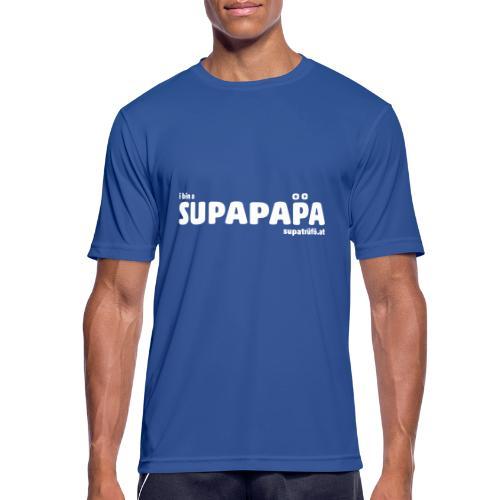 i bin a supapapa - Männer T-Shirt atmungsaktiv