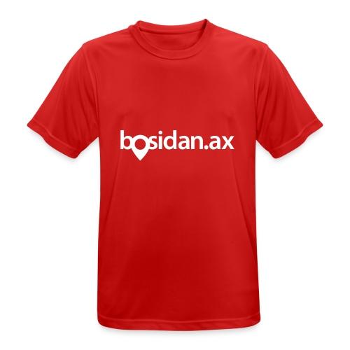Bosidan.ax officiella logotypen - Andningsaktiv T-shirt herr
