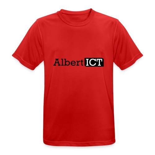 Logo_AlbertICT - mannen T-shirt ademend