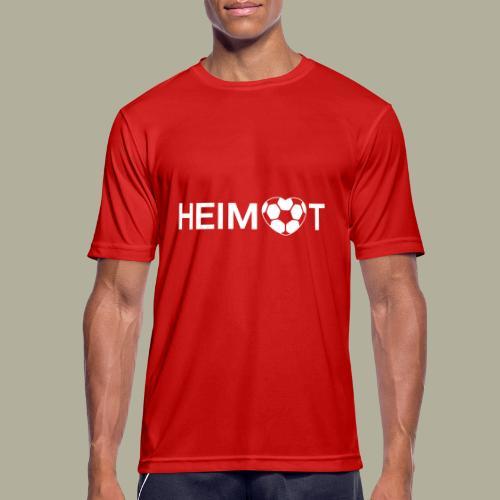 Dortmunder Heimat mit Fußballherz - Männer T-Shirt atmungsaktiv