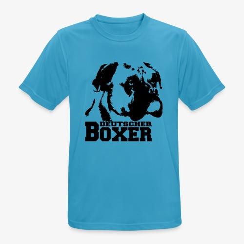 Deutscher Boxer - Männer T-Shirt atmungsaktiv