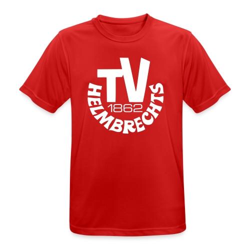 TVH-weiss - Männer T-Shirt atmungsaktiv