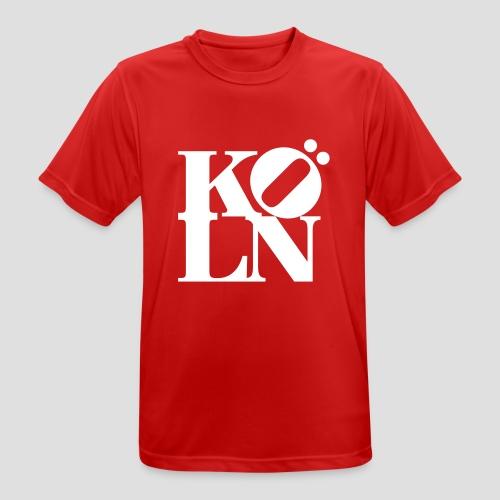 KOELN - Männer T-Shirt atmungsaktiv