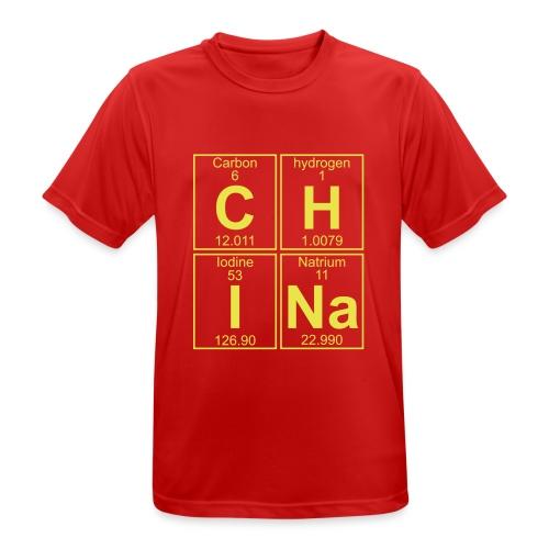 C-H-I-Na (china) - Full - Men's Breathable T-Shirt