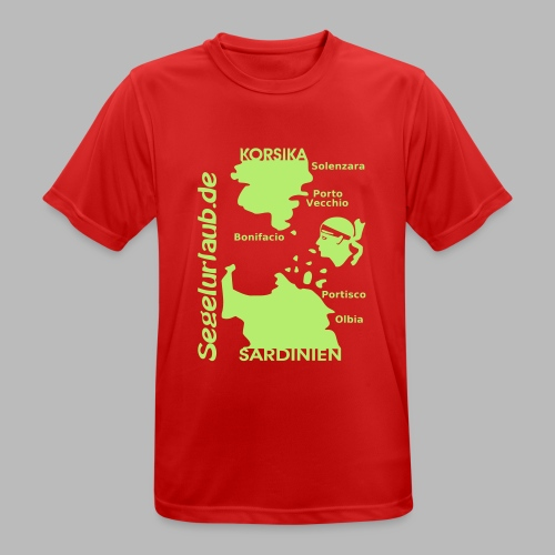 Korsika Sardinien Mori Shirt - Männer T-Shirt atmungsaktiv