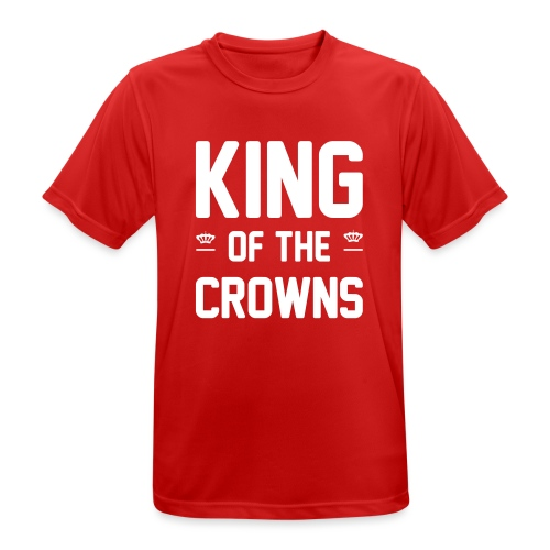 King of the crowns - Mannen T-shirt ademend actief