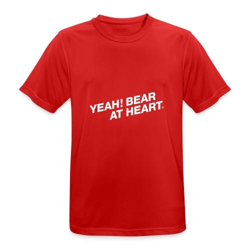 Yeah Bear at Heart #2 - Männer T-Shirt atmungsaktiv