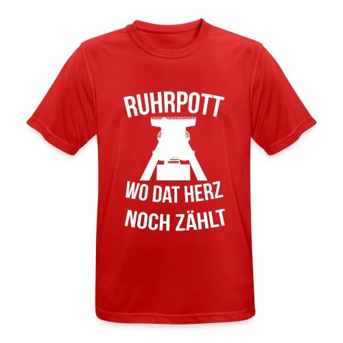 Ruhrpott - Wo dat Herz noch zählt - Männer T-Shirt atmungsaktiv