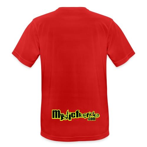 scritta mystic - Maglietta da uomo traspirante