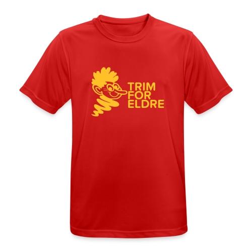 trim for eldre - Pustende T-skjorte for menn