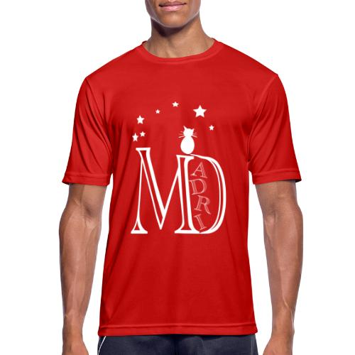 MadriG - Camiseta hombre transpirable