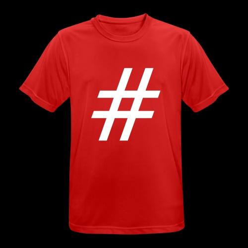 Hashtag Team - Männer T-Shirt atmungsaktiv