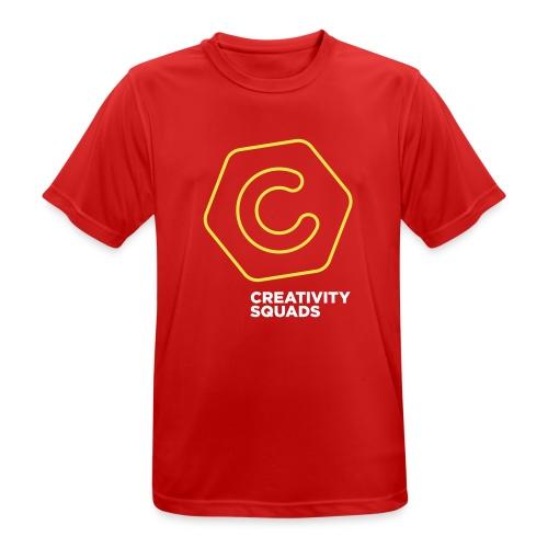 CS Hoodie Pink Unisex - miesten tekninen t-paita