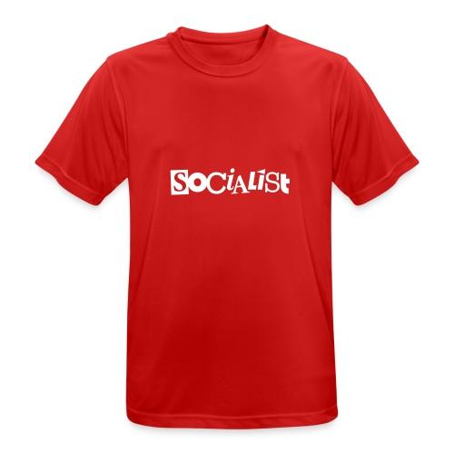 Socialist - Männer T-Shirt atmungsaktiv