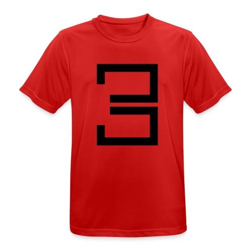 3 - Men's Breathable T-Shirt