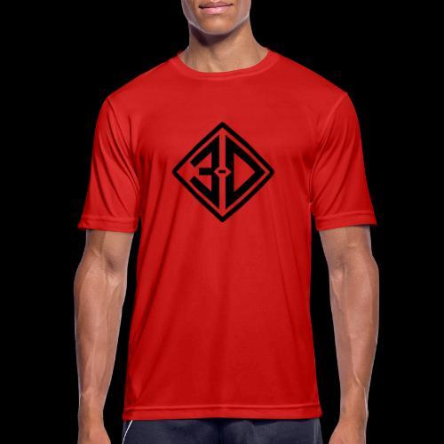 3d N et B - T-shirt respirant Homme