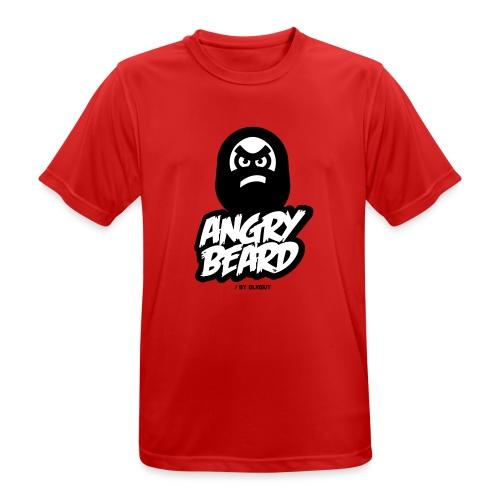 ANGRY BEARD - Koszulka męska oddychająca