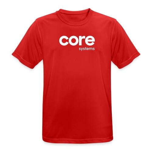 coresystems white - Männer T-Shirt atmungsaktiv