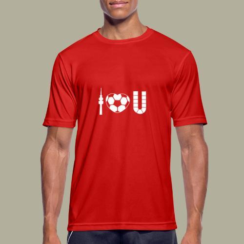 Dortmund I Love U - Männer T-Shirt atmungsaktiv