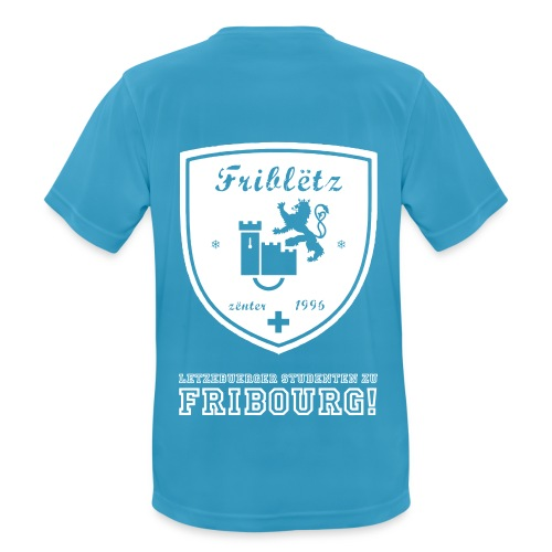 Fribletz Logo Letz Stud z Frib - Männer T-Shirt atmungsaktiv