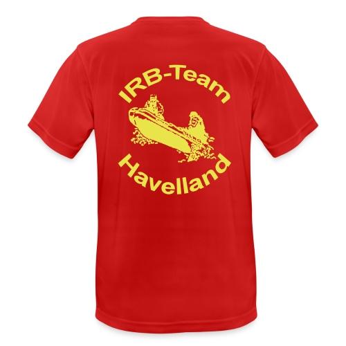 irbteamlogo - Männer T-Shirt atmungsaktiv