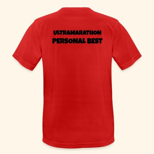 ULTRAMARATHON - motivo - Maglietta da uomo traspirante