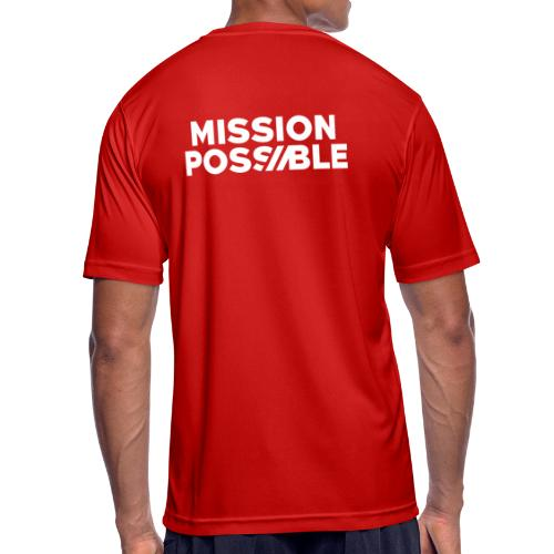 FYW - MISSION POSSIBLE Edition - Back - Men's Breathable T-Shirt