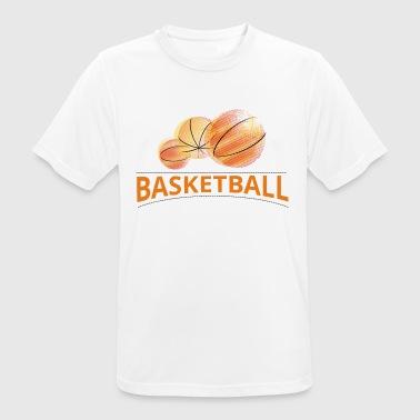 basket - Pustende T-skjorte for menn