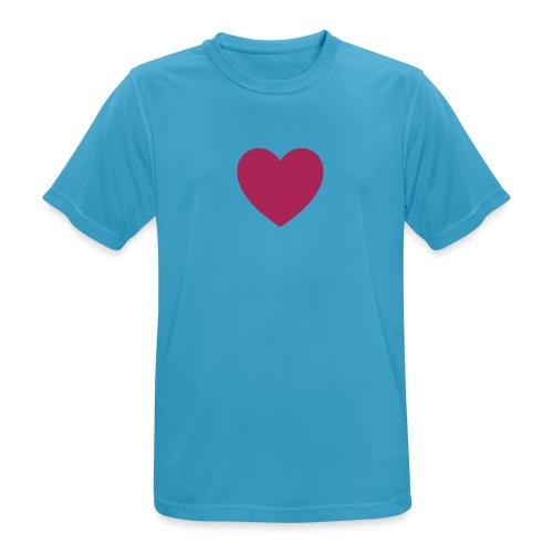 Herz FDP - Männer T-Shirt atmungsaktiv