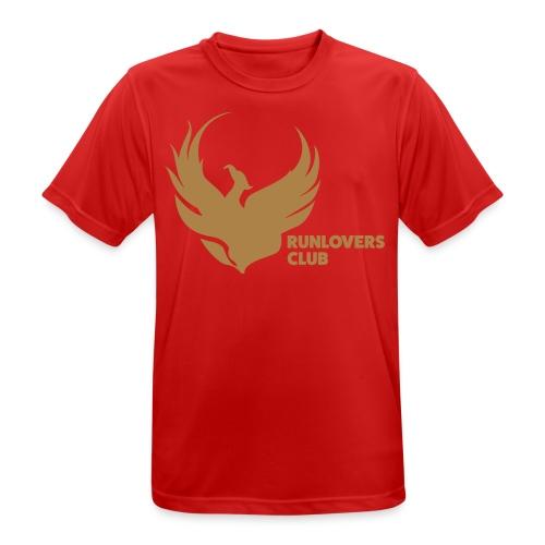 Runlovers Club - Maglietta da uomo traspirante