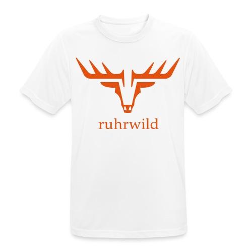 ruhrwild hirsch - Männer T-Shirt atmungsaktiv