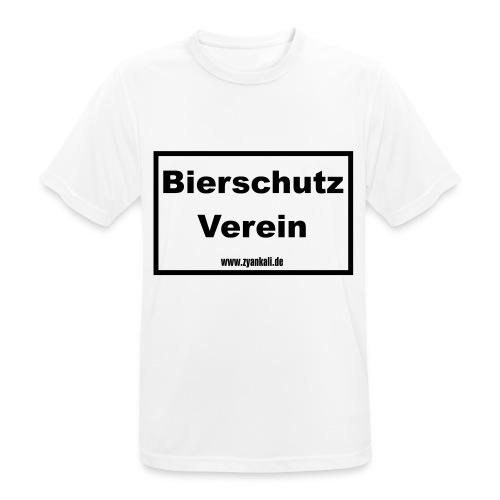 Bierschutzverein - Männer T-Shirt atmungsaktiv