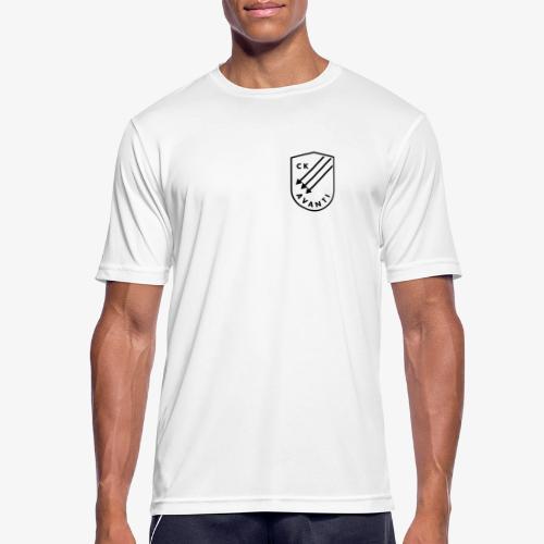 CK Avanti svart sköld - Andningsaktiv T-shirt herr