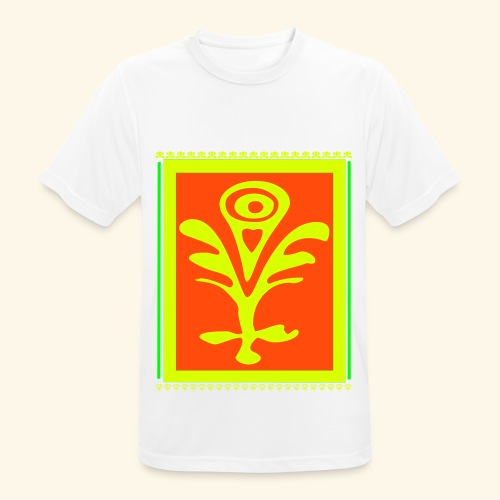 Neon Design - Männer T-Shirt atmungsaktiv
