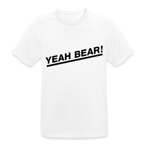 Yeah Bear! - Männer T-Shirt atmungsaktiv