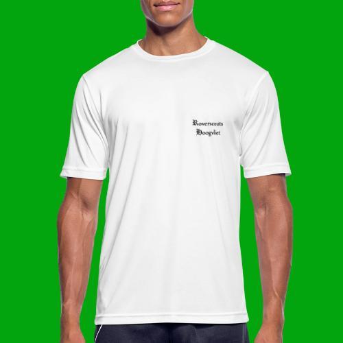 Rover logo en Tekst, Je kan zelf naam toevoegen - Mannen T-shirt ademend actief