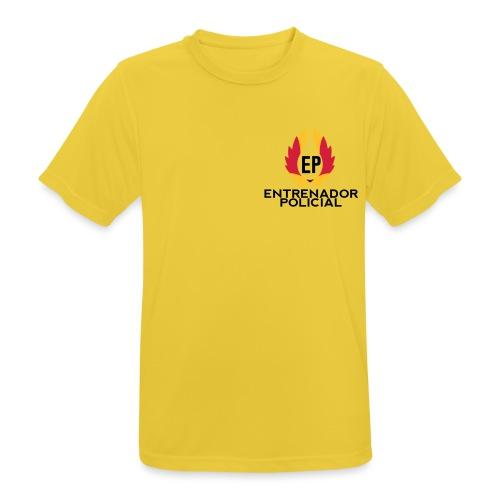 EntrenadorPolicial - Camiseta hombre transpirable