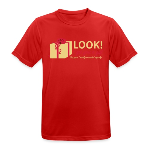 Täydellinen lahja - miesten tekninen t-paita