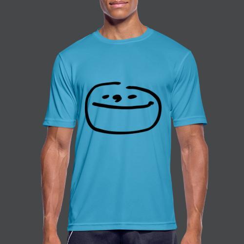 mondgesicht - Männer T-Shirt atmungsaktiv