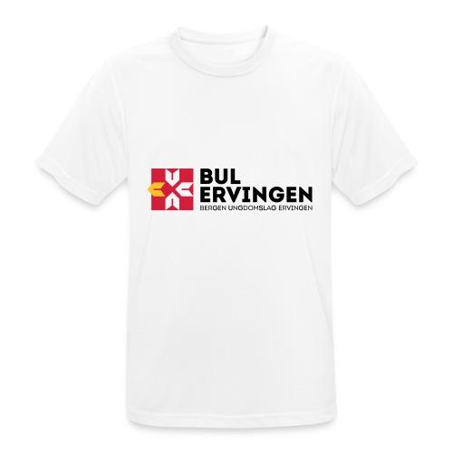 bule-kopp - Pustende T-skjorte for menn